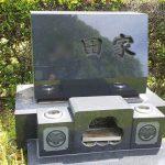大庭台墓園にて墓石の磨き直しをいたしました。