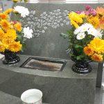 素敵な本小松石のお墓が、大庭台墓園立体墓地に完成いたしました。